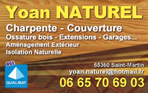 Yoan Naturel charpente couverture
