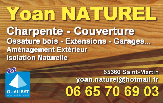 Yoan Naturel charpente couverture